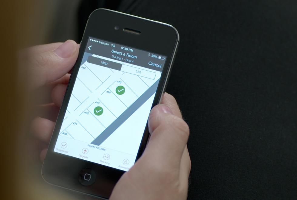 希尔顿集团推出手机办理入住服务