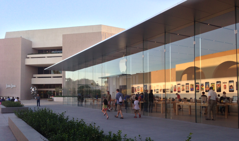 stanford apple store
