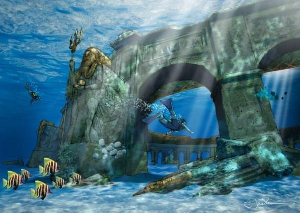 迪拜将造世界最大水下主题公园