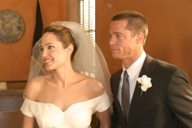 Pitt 与Jolie 秘密完婚,最大品牌赢家竟是…