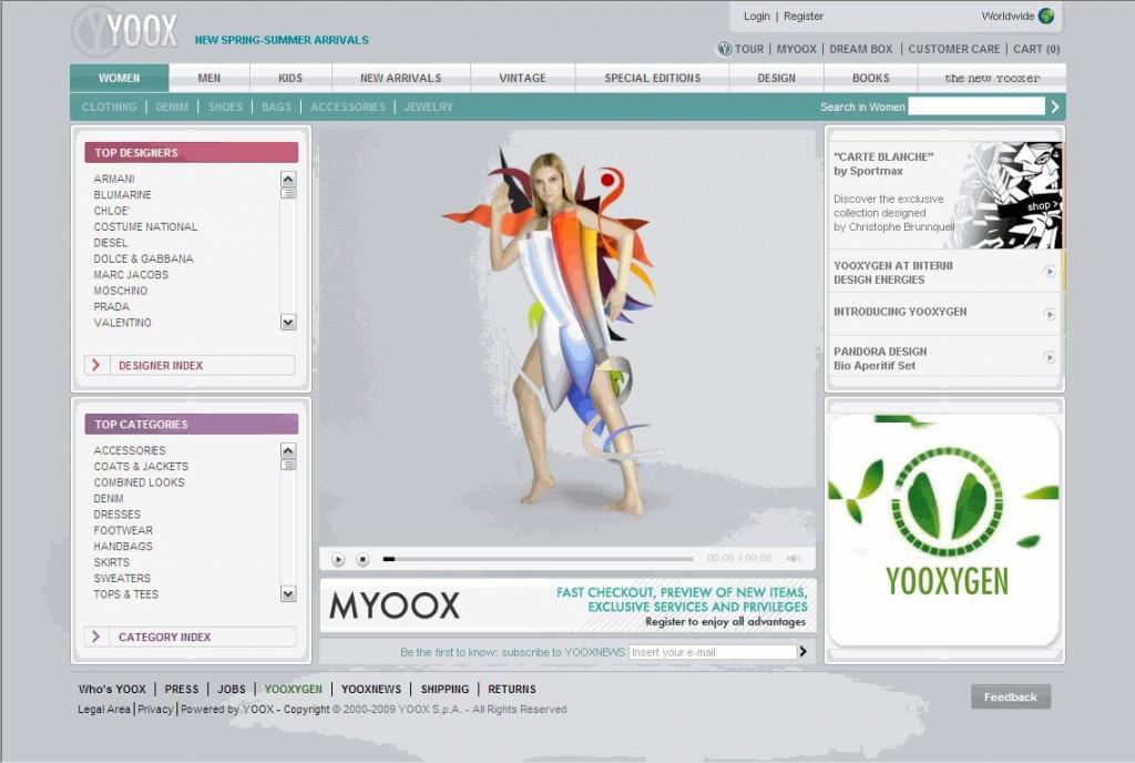 yoox-website