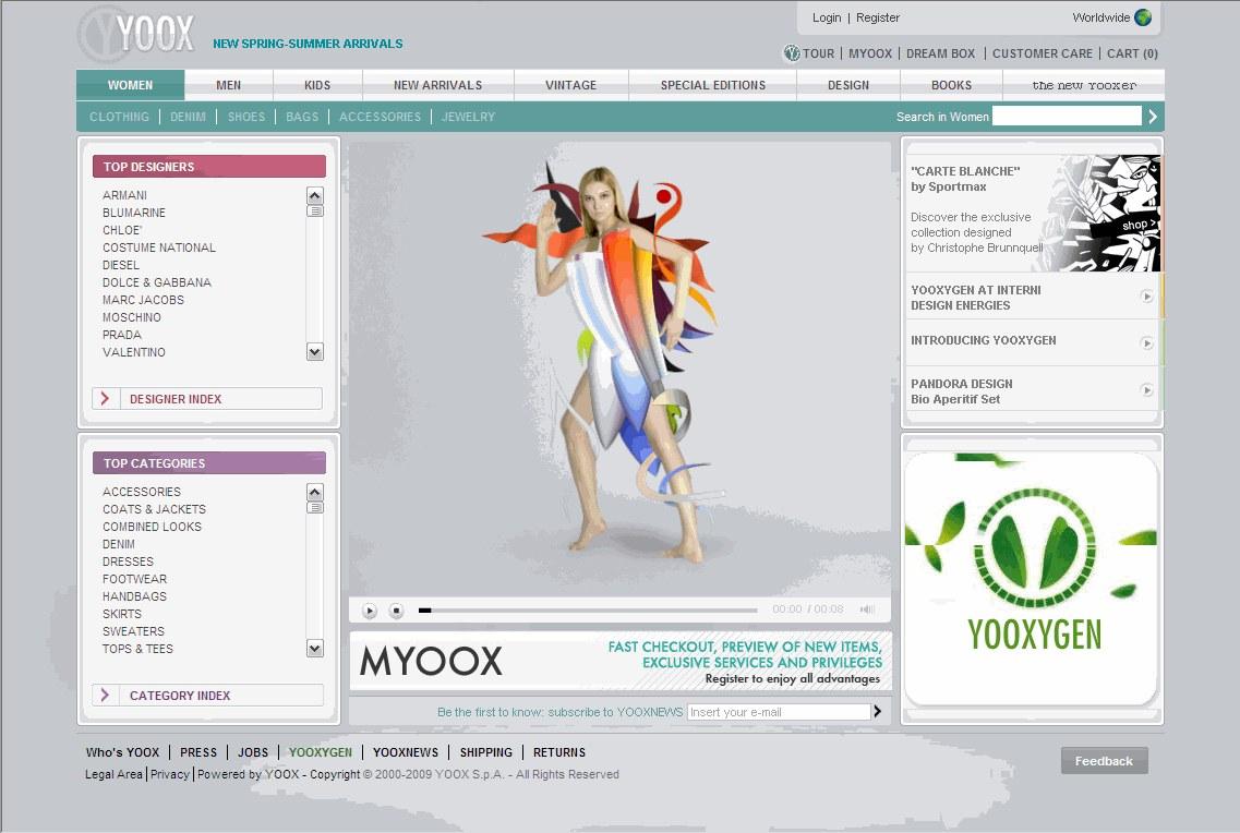 YOOX 发布2014上半年报告