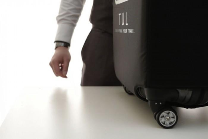 旅行箱也开始智能化了!随时掌控行李重量的 TUL