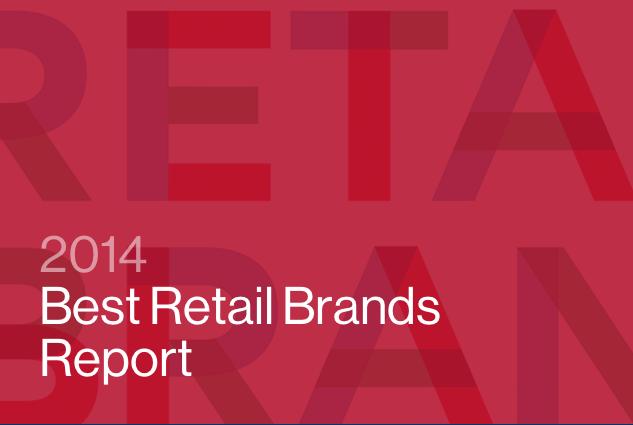 2014年度Interbrand全球百大零售品牌及六大趋势