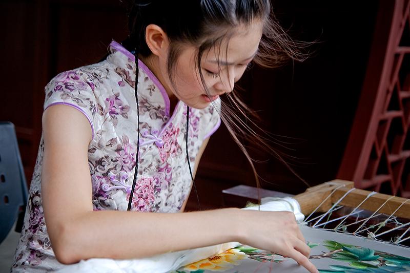 【华丽下午茶】10月18日活动:中国刺绣艺术沙龙