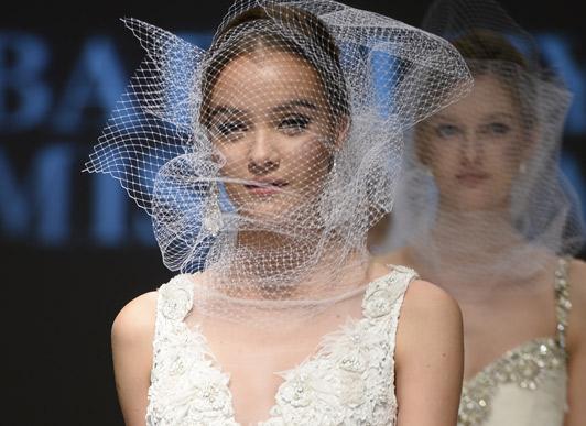 纽约婚纱时装周上创意婚纱大盘点