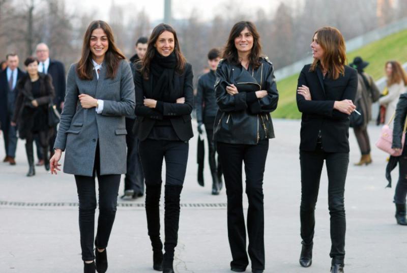 2015春夏巴黎时装周-T 台之外的十佳着装