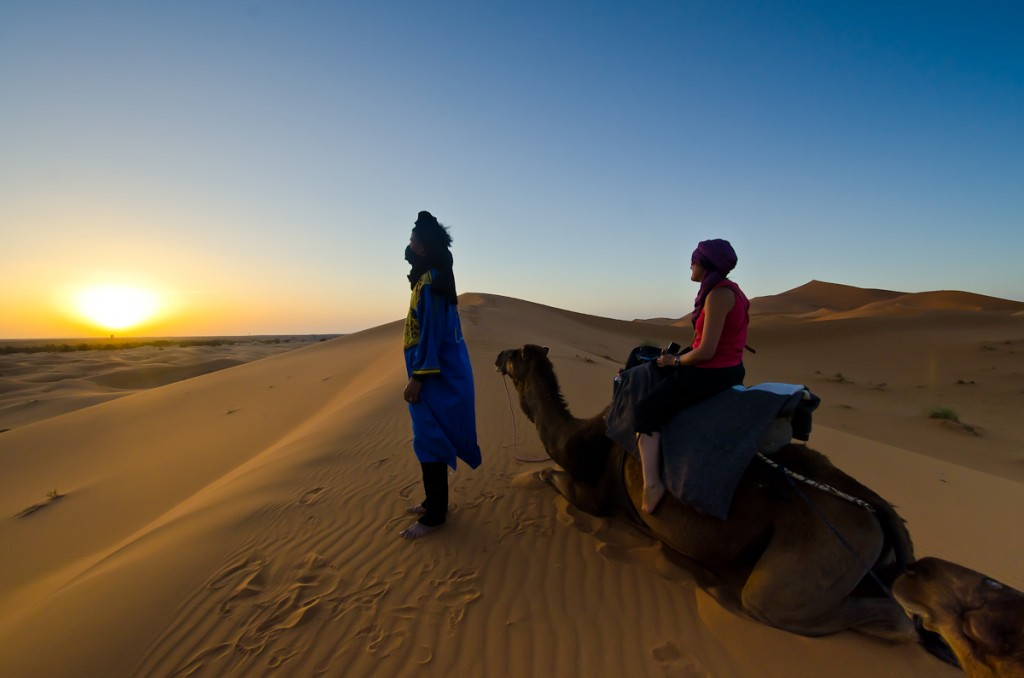 Sunset-And-Sunrise-in-merzouga