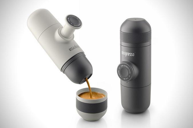 """""""挤""""咖啡的咖啡机,暖冬户外最佳伙伴"""