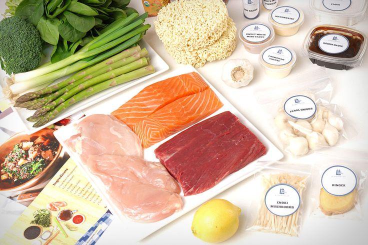 《华丽志》独家报告:美食O2O新潮流-盘点全球五家食材配送创业公司