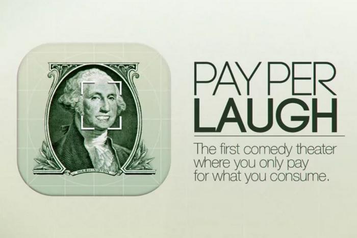 通过面部识别技术对观众的笑容收费