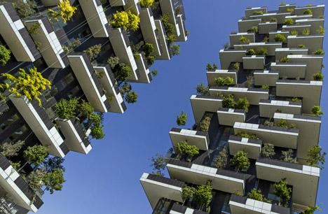 """会""""呼吸""""的建筑—米兰垂直森林公寓终于建成"""