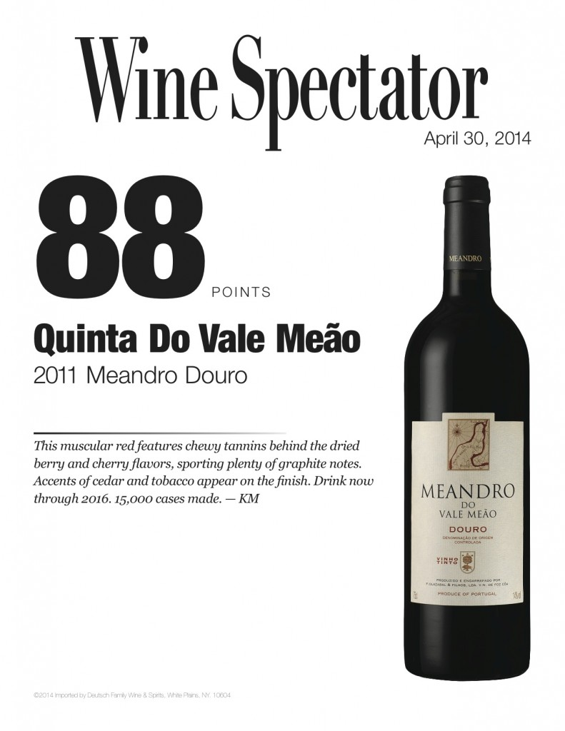 QVM_Review_SS_WineSpectator_DouroMeandro2011_88PTS_Apr_2014