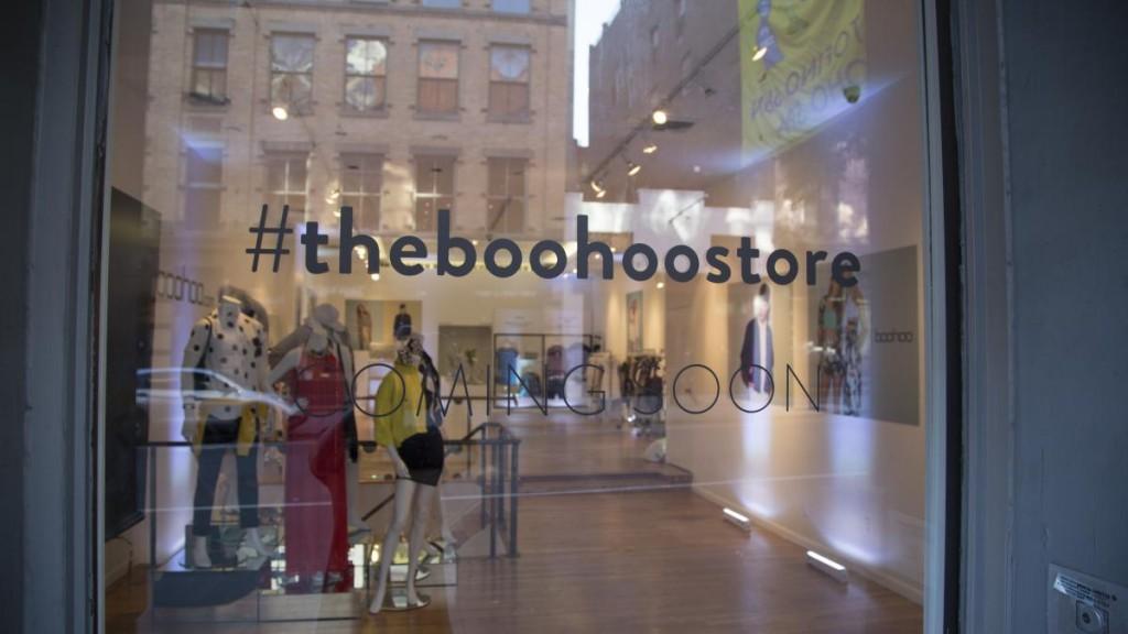 boohoo popup store