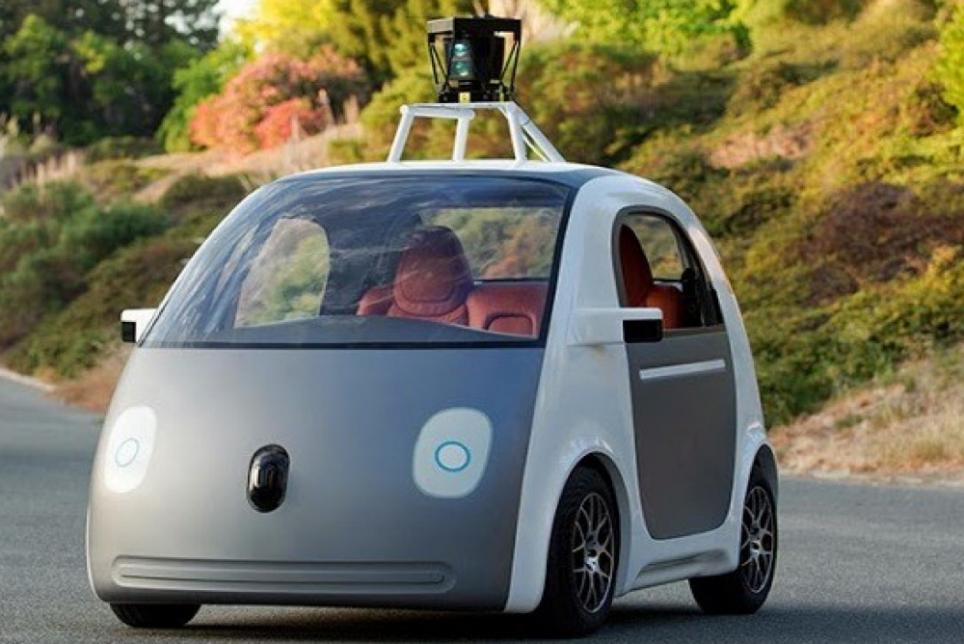 Google 无人驾驶车完整原型曝光
