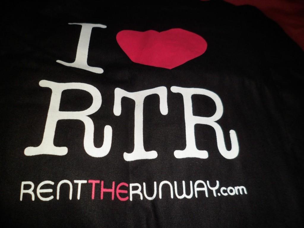 I Heart Rent The Runway Bag