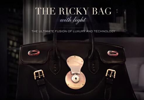 Ralph Lauren推出智能版Ricky 包 听尝鲜者如何吐槽