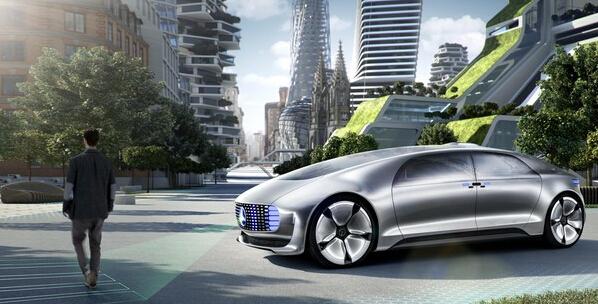 奔驰推出超级炫酷的自动驾驶概念车