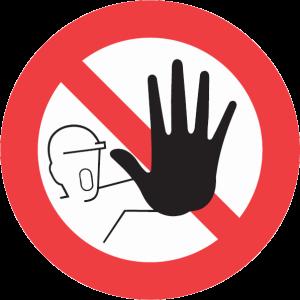 No_admittance_sign