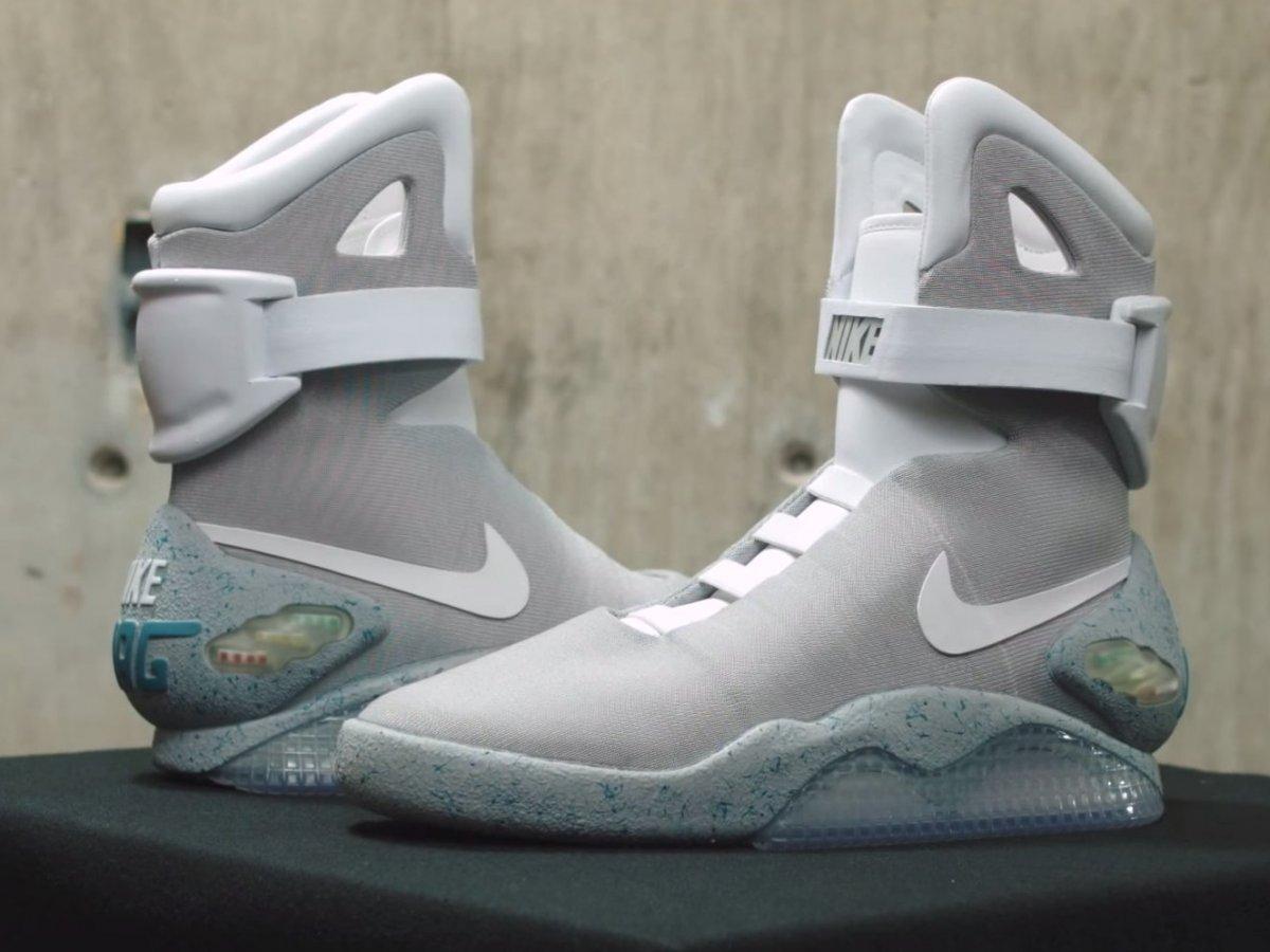 《回到未来2》剧情成真!Nike 今年推出自动系带 Air MAG