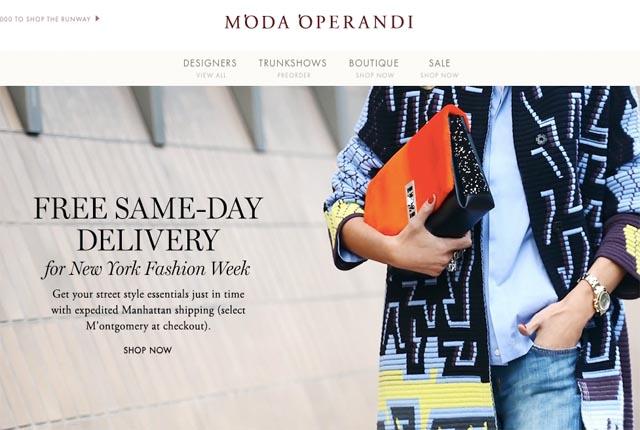高端时尚电商 Moda Operandi 再获 6000万美元融资