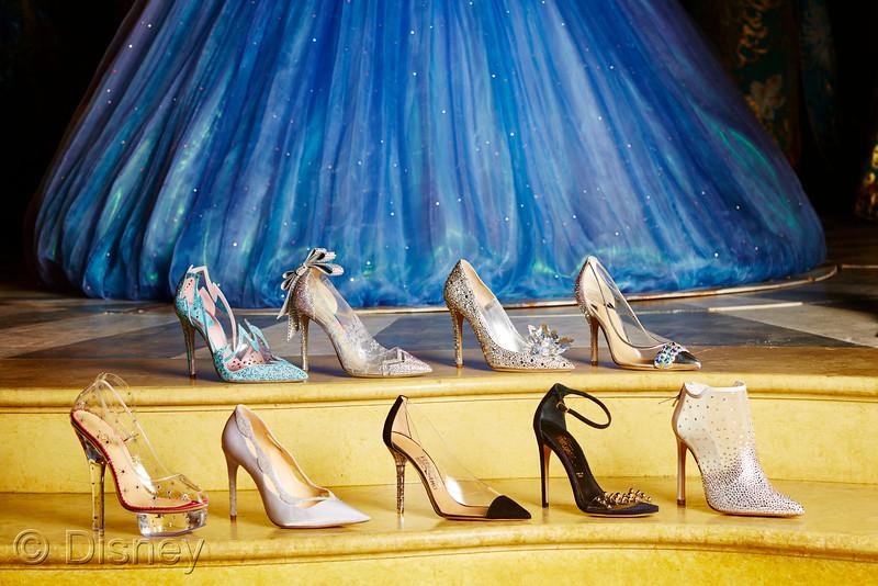 迪士尼跨界时尚,九位顶尖设计师重新演绎灰姑娘水晶鞋