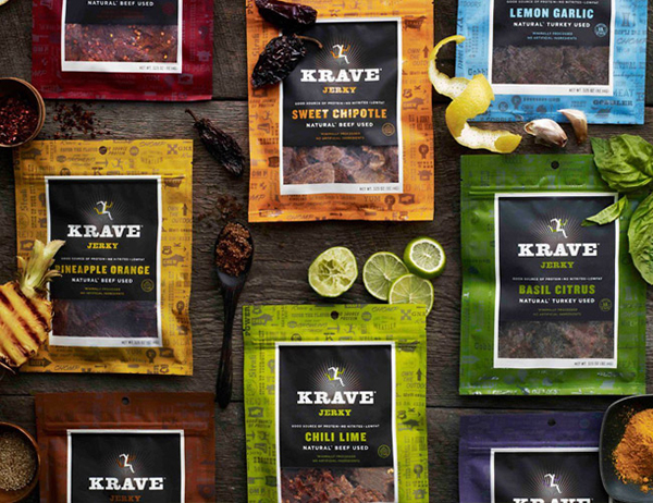 巧克力大王好时收购Krave 进军肉类零食市场