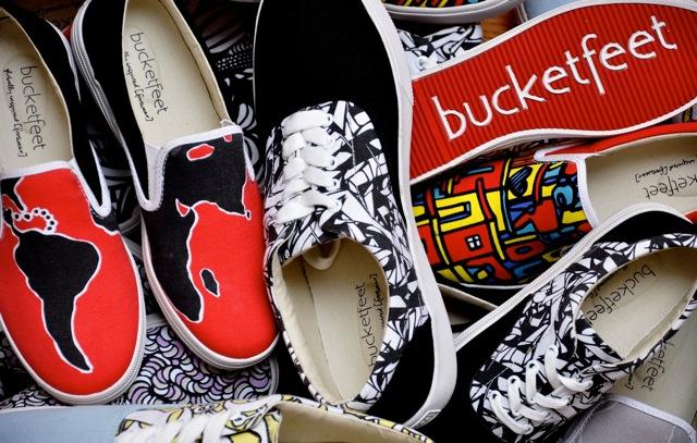 互联网帆布鞋品牌 BucketFeet 让艺术家故事带动粉丝经济