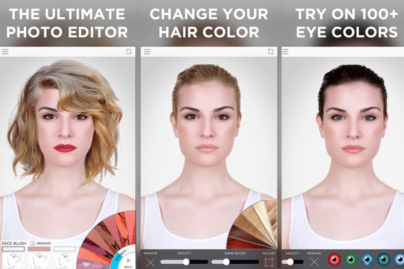 创新美妆电商 ModiFace 实现完整的虚拟上妆效果