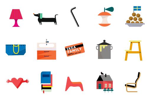 IKEA推出品牌专有表情包,促进家庭和谐?