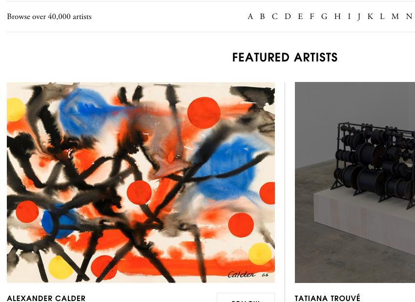 线上艺术网站 Artsy 获 2500万美元 C轮融资