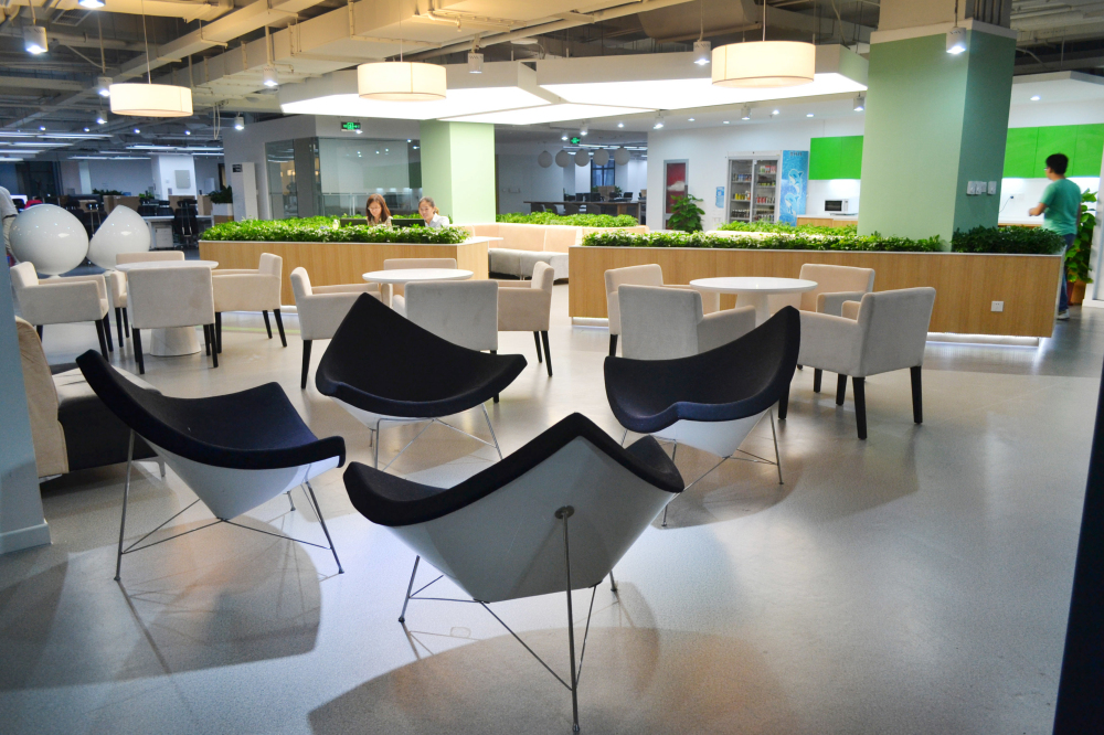 豌豆荚新办公空间 核心休闲