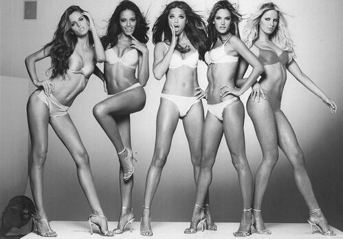 盘点100年来女性完美身材标准的变迁