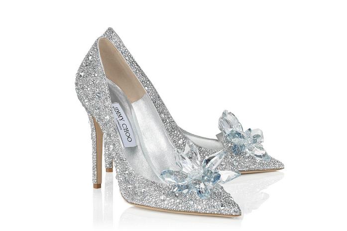 Jimmy Choo灰姑娘水晶鞋正式发售