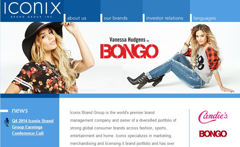 美国品牌管理公司 Iconix 在中国开始独立运营
