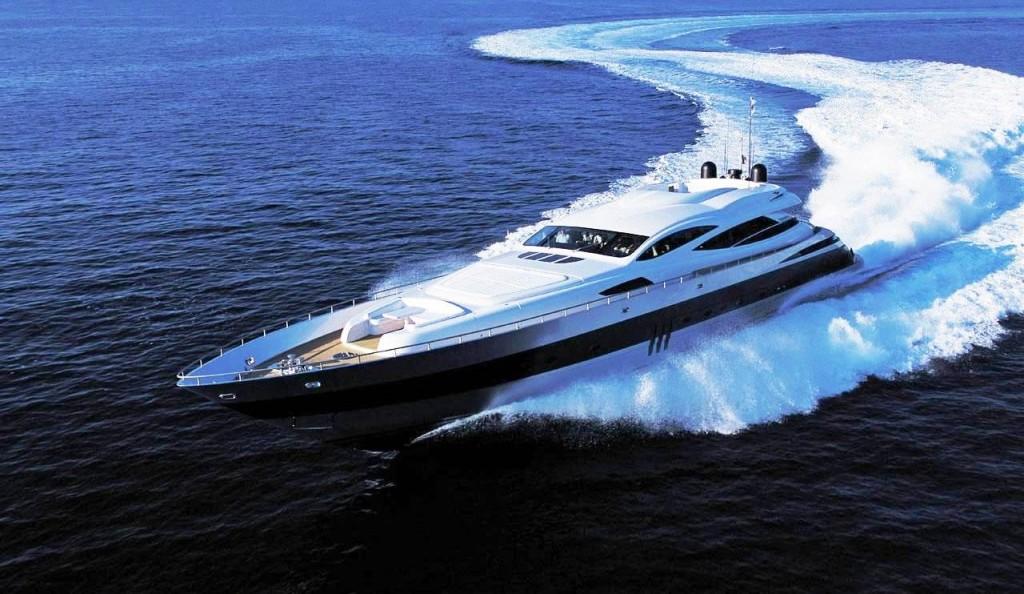 The Pershing 115 MMP Luury Superyacht