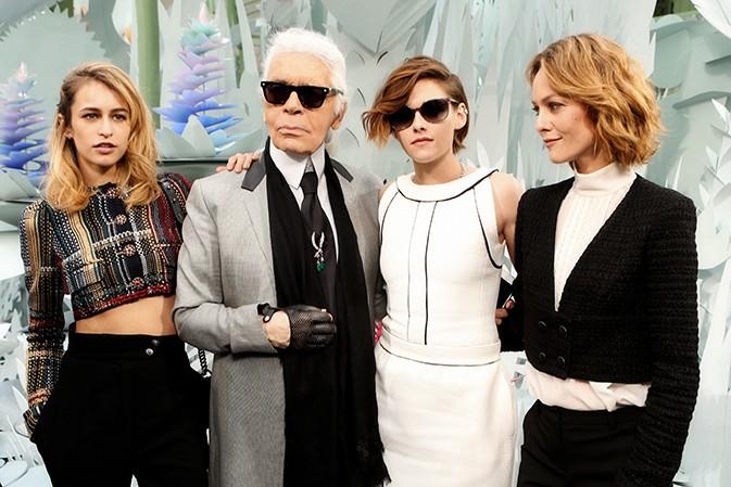 老佛爷的三位 Chanel包袋代言女神