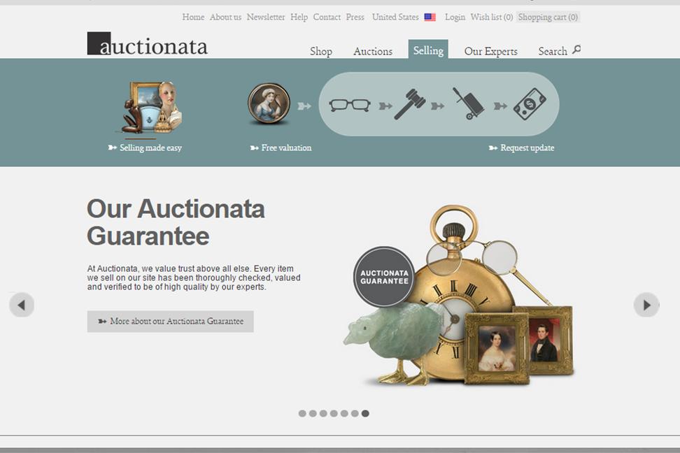 在线拍卖公司 Auctionata 获 4500万美元 C轮融资