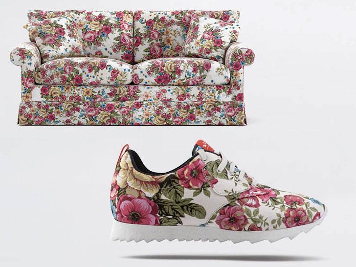 沙发变球鞋,让你更愿意去运动
