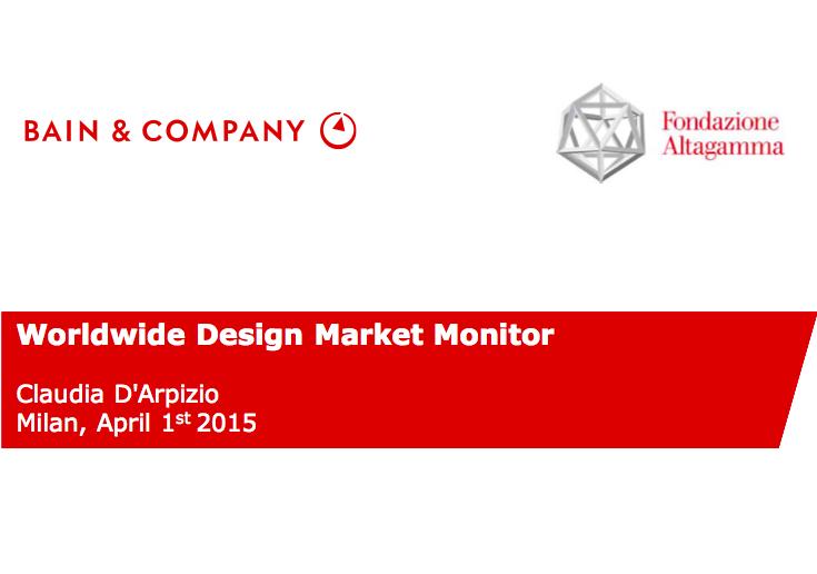 贝恩咨询联合 Altagamma 首次发布《全球设计行业市场监测报告》