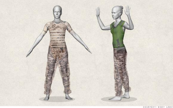 3D技术新应用: Body Labs 让在线定制服装更加靠谱