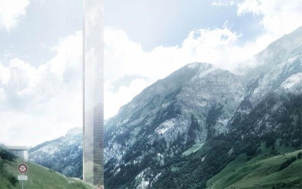 瑞士阿尔卑斯小山村拟建欧洲最高酒店