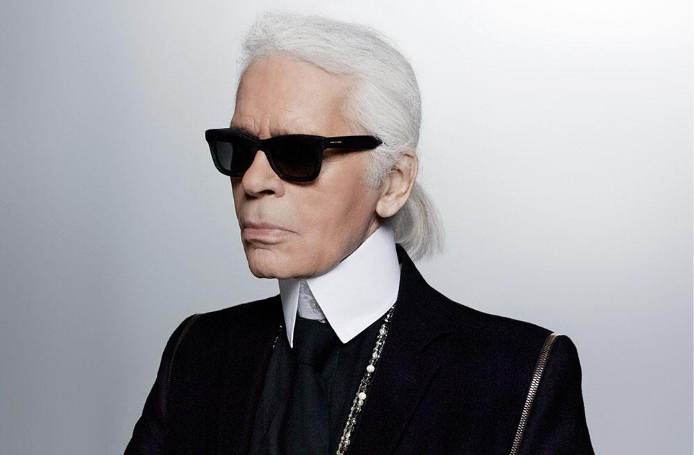 Karl Lagerfeld 谈科技:我戴智能手表,但我的一切都在脑子里