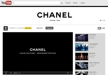 数字说明:Chanel 的网络营销真的很强大