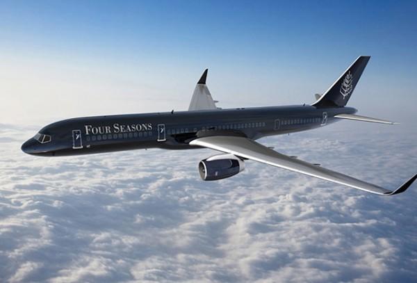 四季酒店私人飞机正式出炉,环球奢华旅行航线2016年启程