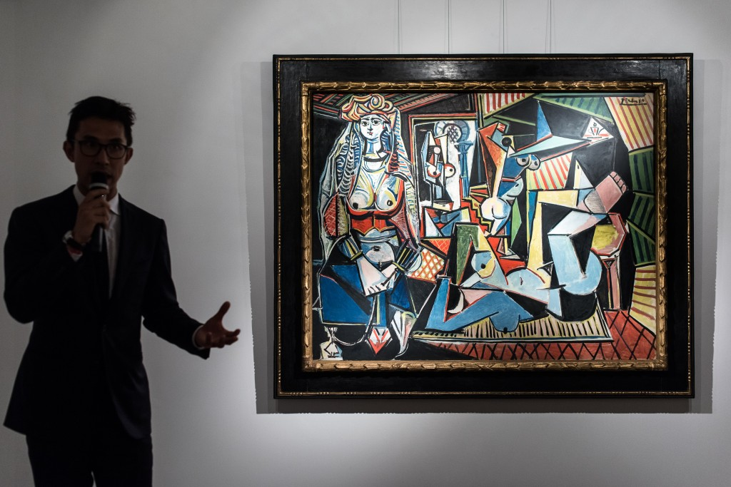 HONG KONG-US-ART-PICASSO-AUCTION