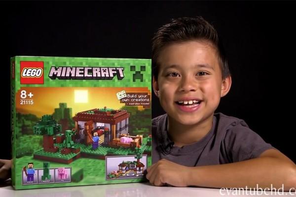 美国9岁正太在 YouTube 开玩具专栏,年入百万美金