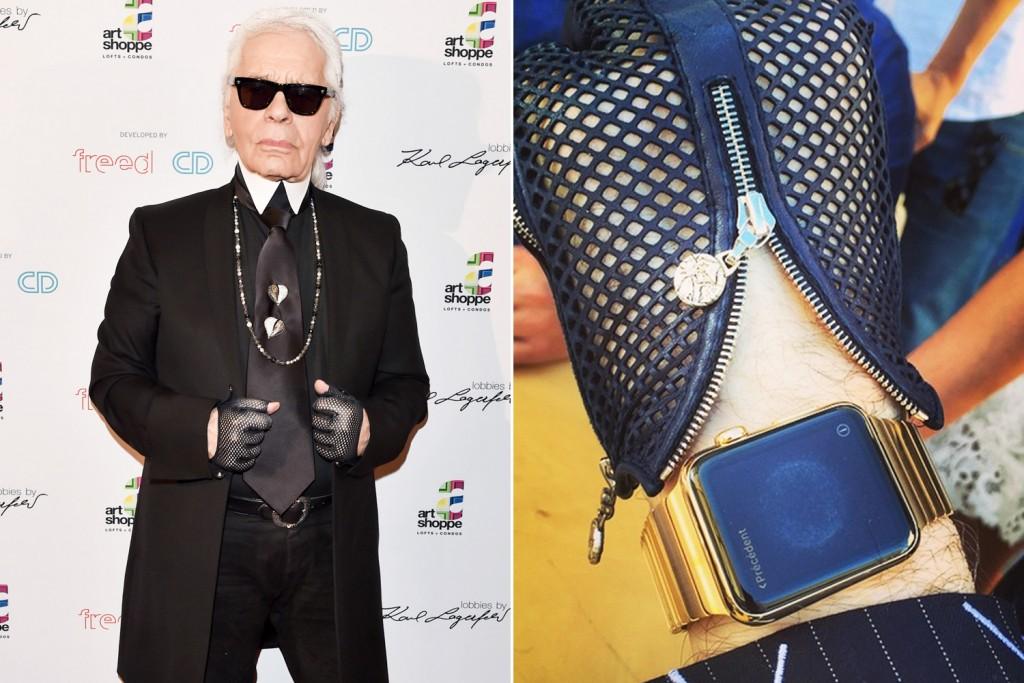 Karl Lagerfeld-applewatch