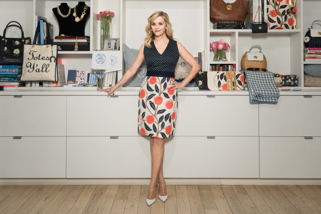 好莱坞影星 Reese Witherspoon 自创互联网品牌 Draper James