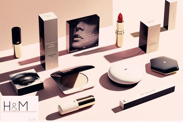 快时尚 H&M 推出美妆产品线,于今秋全面上市